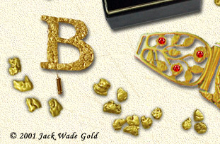 custom gold nugget jewelry