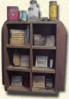 An old medicine cupboard